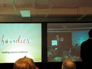 Fooodies Startup Weekend presentation