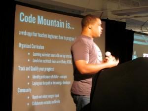 Code Mountain Startup Weekend presentation